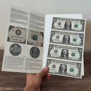 Неразрезанные доллары